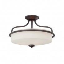 Savoy House Europe Charlton 3 Light Semi-Flush Lamp