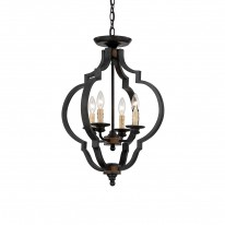 Savoy House Europe Kelsey 4 Light Convertible Hanging Lamp