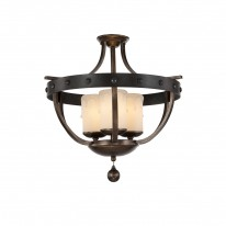 Savoy House Europe Alsace 3 Light Semi Flush